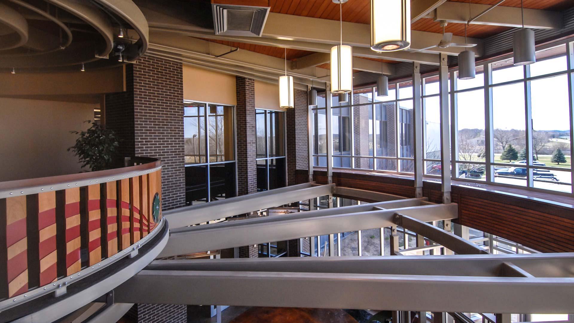 Toro lobby balcony